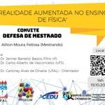 Convite para defesa de Ailton Moura