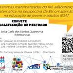 Convite para qualificação de Leila Quaresma