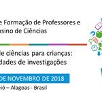 I WORKSHOP FORMAÇÃO DE PROFESSORES E ENSINO DE CIÊNCIAS