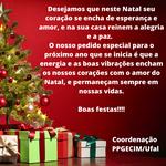 Mensagem de Boas Festas!!!